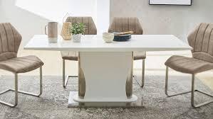 Tisch Weiß Hochglanz