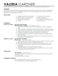 Retail Assistant Manager Resume Objective Retail Store Manager Resume Resume Assistant Manager Retail 14