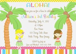 47 Invaluable Hawaiian Theme Party Invitations Printable Nayb