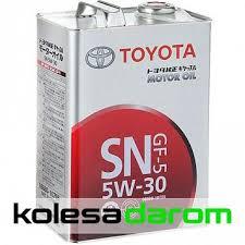 Купить <b>моторное масло</b> для автомобиля <b>TOYOTA Motor Oil</b> 5W-30 ...