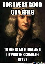 Newton's Law Of Motion Memes. Best Collection of Funny Newton's ... via Relatably.com