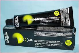 Loreal Inoa Hair Colour Shades Chart Bedowntowndaytona Com