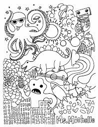 Hello Kitty Halloween Coloring Pages Printables Color Halloween Line