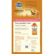 nature s recipe grain free easy to digest dry dog food salmon sweet potato pumpkin recipe 24 pound