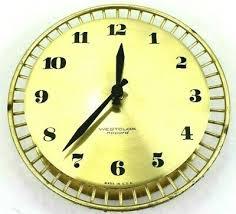 clock mid century modern vintage