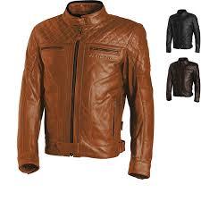 richa memphis leather motorcycle jacket