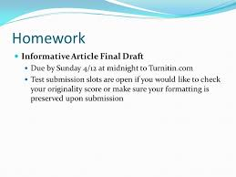 today s goals introduce classical argument essays as a genre learn  11 homework informative