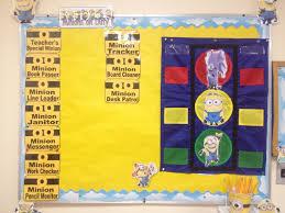 Minion Behavior Chart Minion Job Chart Behavioral Chart Minion Classroom