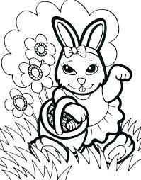 Bunny Coloring Pages Printable Cute Bunny Colouring Pages Rabbit