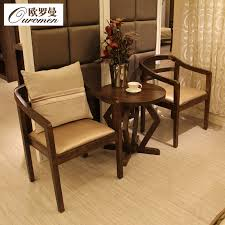 get ations lounge chair wood chair lounge chairs minimalist modern scandinavian furniture leisure chairs coffee table three sets