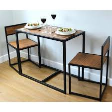 small table and chairs small kitchen dining table chairs set wood metal breakfast bistro furniture for