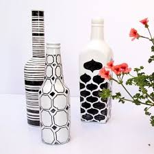 Decorating Empty Wine Bottles 100 DIY Ways To Reuse Empty Booze Bottles 100