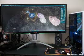 best size monitor for gaming how to decide between buying a flat or curved pc monitor windows