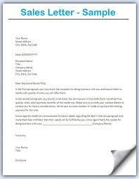 Image Result For Sample Sales Letters To Prospects Sales Letter