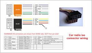 color wiring diagram car stereo car stereo wiring harness color pioneer radio wiring harness color code at Stereo Wiring Harness Color Codes