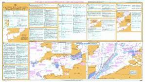 Routeing Charts Information Admiralty Mariners Routeing Guide 5500 English Channel And