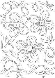 25 Bladeren Kleurplaat Bloemen Hartjes Mandala Kleurplaat Voor