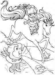Small Picture Rainbow Brite 999 Coloring Pages CHILDREN art coloring