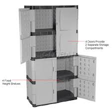 Great Rubbermaid Plastic Storage Cabinet with Purchase Storage