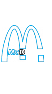 How to Draw McDonald's Company Logo, Company Logos, Easy Step-by ...
