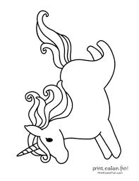 Get free printable coloring pages for kids. Top 100 Magical Unicorn Coloring Pages The Ultimate Free Printable Collection Print Color Fun