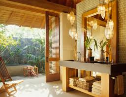 tropical bathroom lighting. i recently wrote a blog about beachy bathroom lighting do think the two are different with you can be little more playful and tropical b
