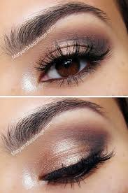 eye makeup look for navy blue dress cosmeticstutor