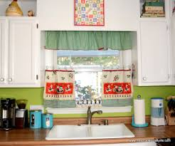 10 photos to red plaid kitchen curtains