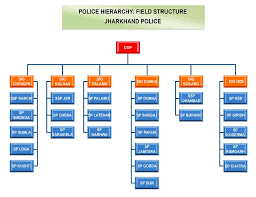 Organization Chart Department Of Police State Government