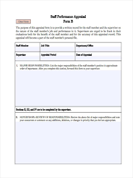 Monthly Appraisal Form Monthly Appraisal Form Complete Guide Example 7