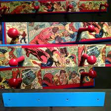 Spider Coat Rack Amazing Spiderman HatCoat Rack Marvel Comics Handmade 36