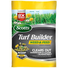 Scotts Turf Builder 43 lb. 15,000 sq. ft. Weed and Feed Lawn ...