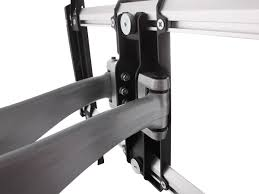 mono full motion articulating tv wall mount bracket for tvs 37in to 70in max