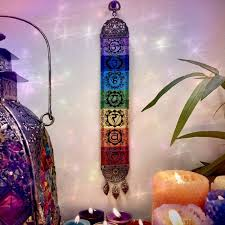 Chakra mandala wall hanging, crochet chakra, chakra banner, chakra tapestry, boho wall hanging, gypsy wall hanging, rainbow wall hanging, decoration for wall or table, handmade crochet chakras with high quality mercerized cotton yarn with the colors of the chakras and red feather and beads it. 7 Chakra Wall Hangings For Energetic Alignment And Adornment