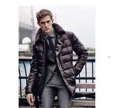 Mathias Lauridsen + Matthew Avedon Front Massimo Dutti's Fall ... & Mathias Lauridsen dons a quilted jacket over a trim, tailored suit. Adamdwight.com