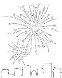 Small Picture Fireworks Coloring Page Coloring Book