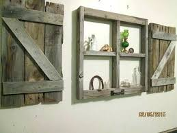 shutter wall decor rustic shutter wall decor little window frame with shutters shutter wall decor