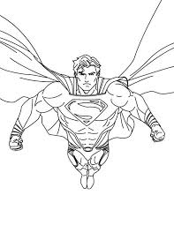 Small Picture Superhero Superman Coloring Pages Coloring Coloring Pages