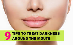 remove darkness around mouth and lips