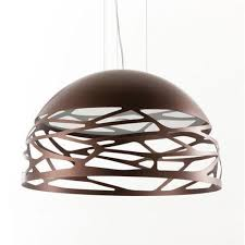 contemporary italian lighting. Contemporary Italian Dome Pendant Light Bronze Modern Lighting