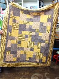28 best gray and yellow quilts images on Pinterest   Quilting ... & gray and yellow quilt #ADORNit Adamdwight.com