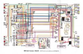 1967 81 camaro laminated color wiring diagram 11\