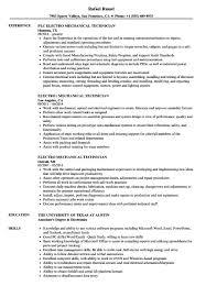 elevator resume sample 95 mechanical technician resume sample electrical elevator