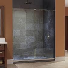 framed glass shower doors. Bathroom Design And Decoration Using Clear Glass Sliding Shower Door Including Dark Framed Doors