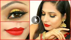 gold smokey eyes for beginners step