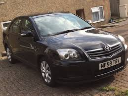 Toyota Avensis 2008, Black, Manual, 2.0 Diesel £850 QUICK SALE ...