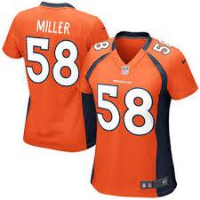 Game Denver Peyton - Broncos Ladies Clothing Manning Jersey Sports