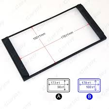 online buy whole car radio frame from car radio frame car radio stereo 2din fascia panel refitting frame facia trim install mount kit for toyota camry