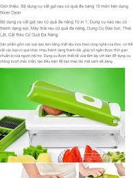 Bộ dụng cụ cắt gọt rau củ quả đa năng 10 món tiện dụng Nicer Dicer