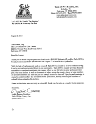 Glen Lerner Receives Thank You From Tails Of Nye County Get Glen